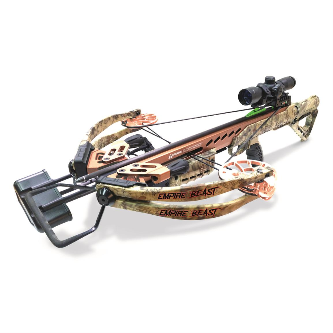 SA Sports Empire Beast 400 Compound Crossbow Package