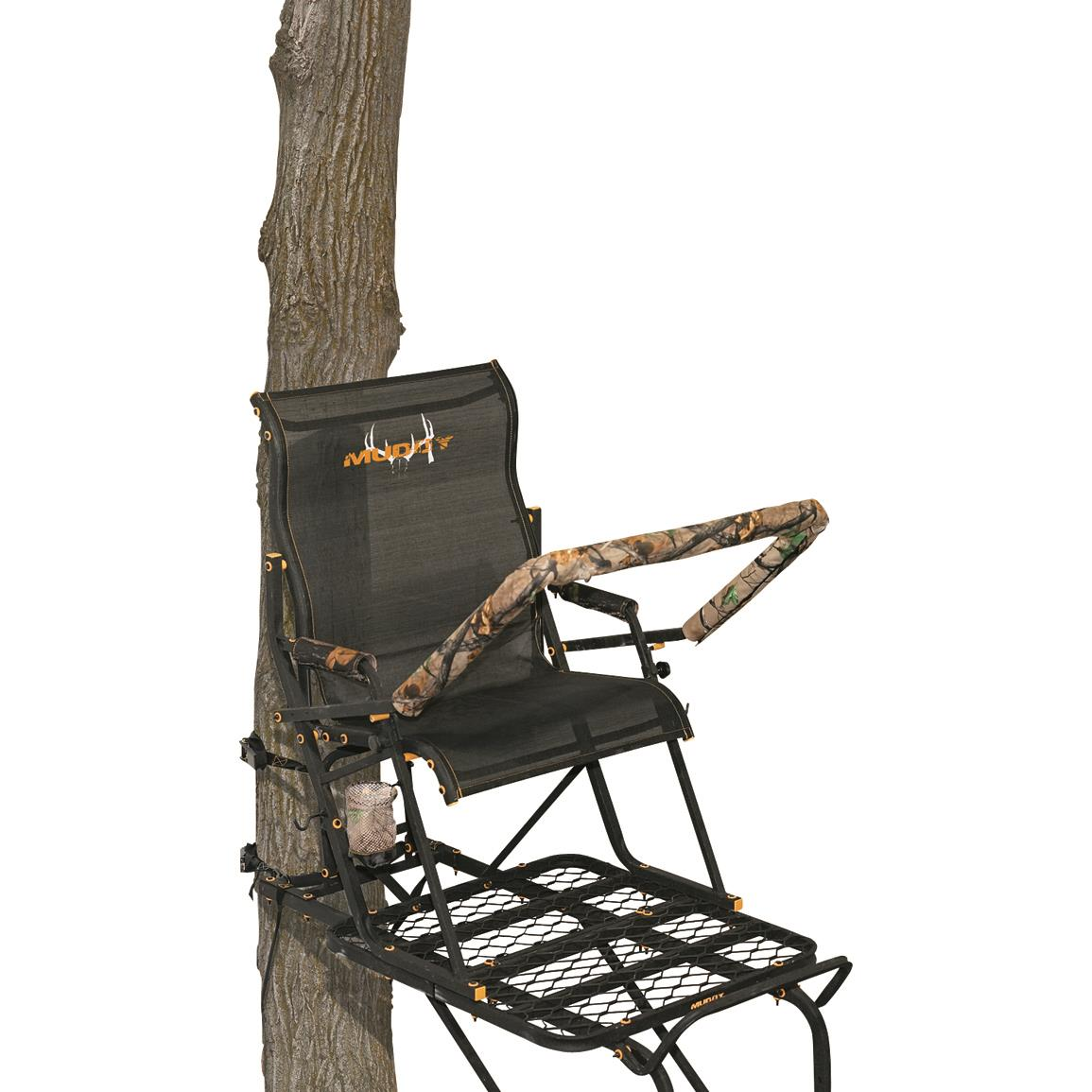Muddy Boss Hawg 1.5-Man Ladder Tree Stand