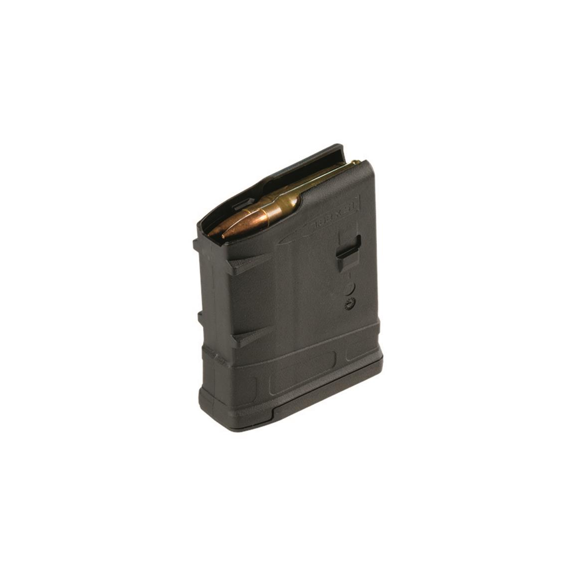 Magpul PMAG, 10 LR/SR Gen M3 Magazine, 7.62x51mm, 10 Rounds, Black