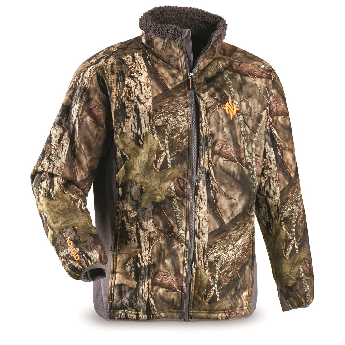 NOMAD Men's Harvester Hunting Jacket, Mossy Oak Break-Up® COUNTRY™