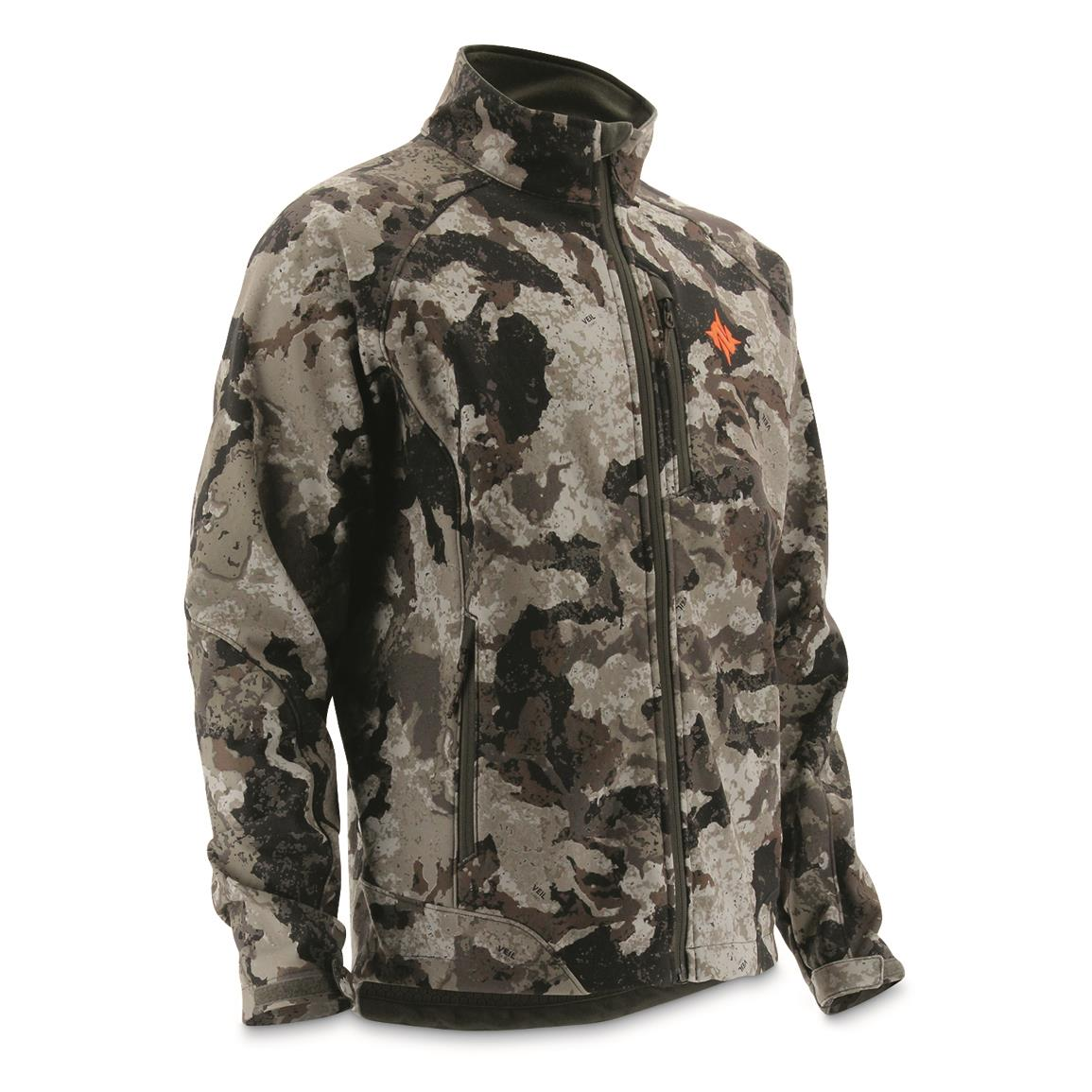 NOMAD Men's Barrier Hunting Jacket, Veil Cervidae™