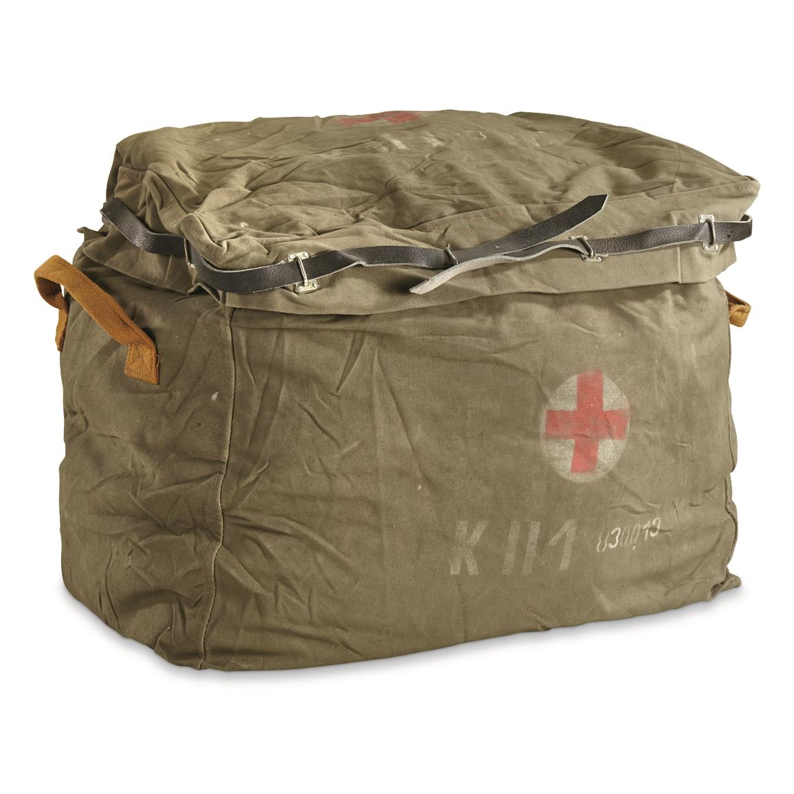 Hungarian Military Surplus First Aid Parachute Bag Used