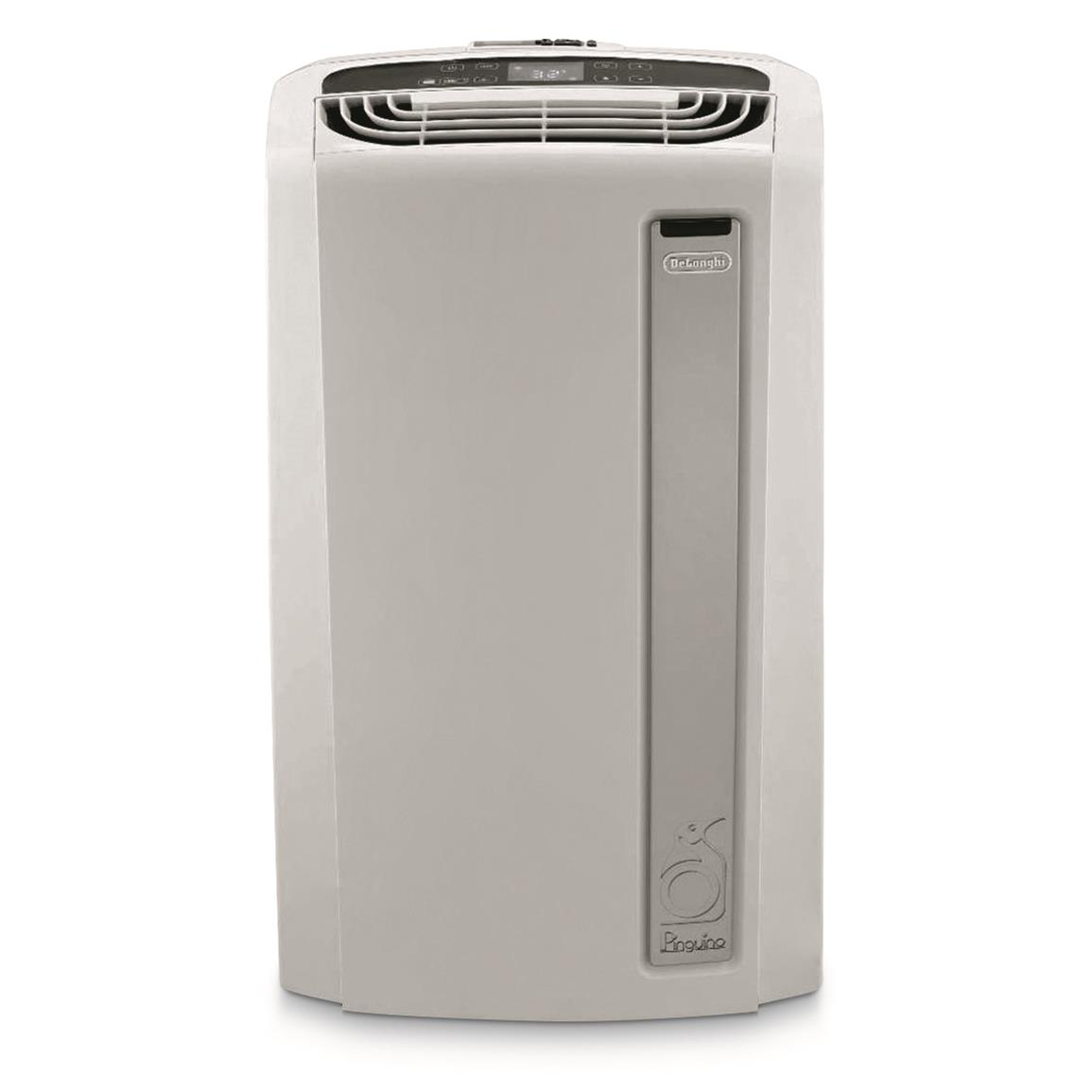 DeLonghi Pinguino 14,000 Whisper Quiet Portable Air Conditioner with Heat Pump, Reconditioned