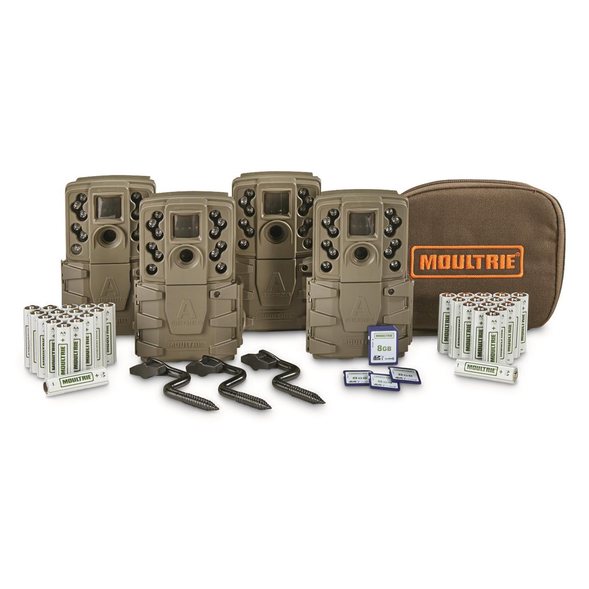 Moultrie A-25 Trail/Game Camera Bundle