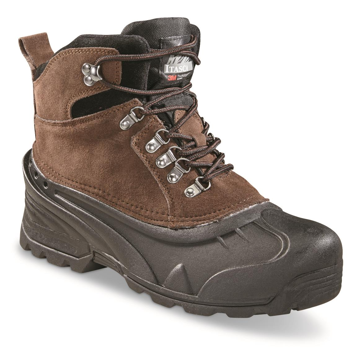 Itasca™ Ice Breaker Insulated Boots, Brown