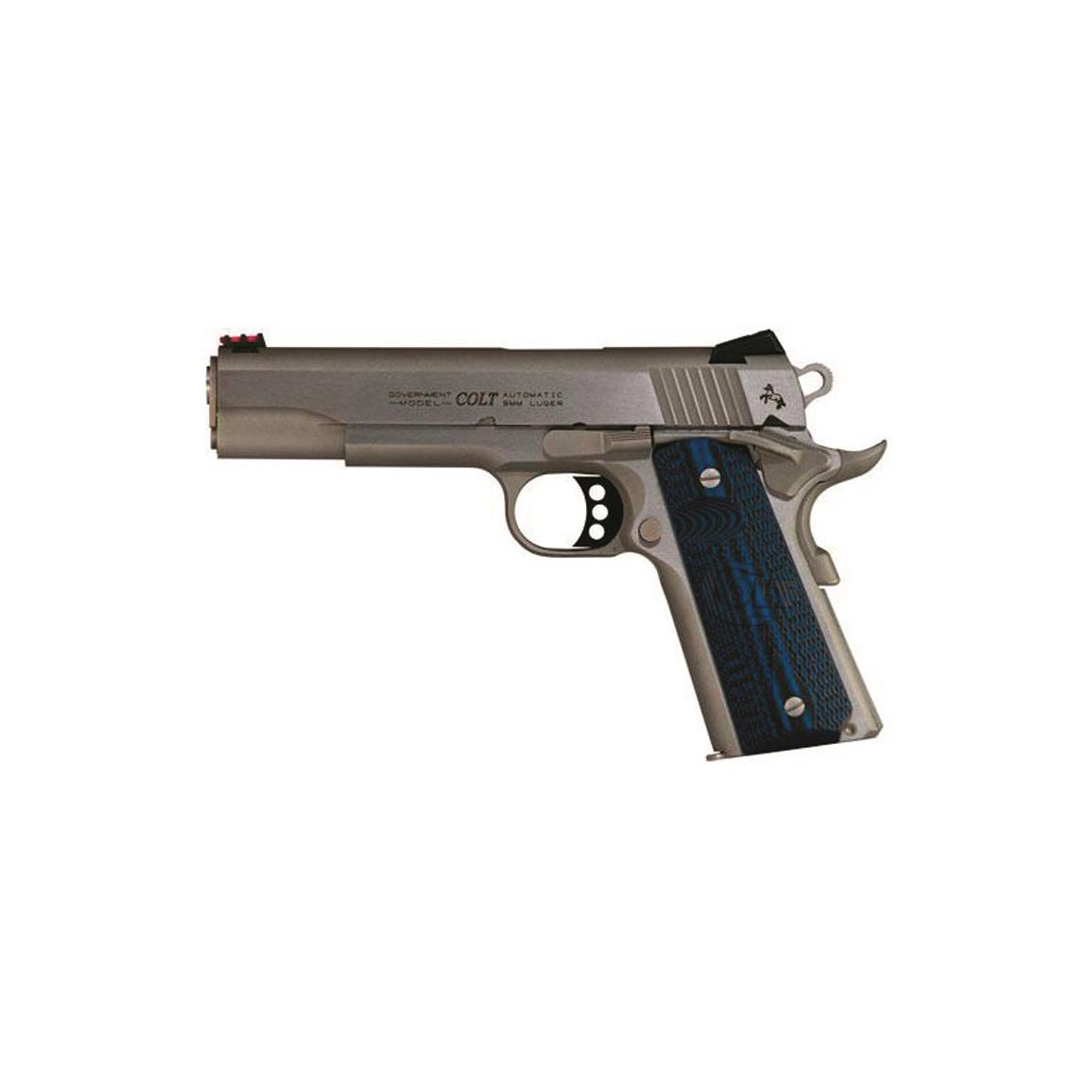 "Colt Government Competition 1911 Stainless Steel, Semi-Automatic, .38 Super, 5"" Barrel, 9+1 Rounds"