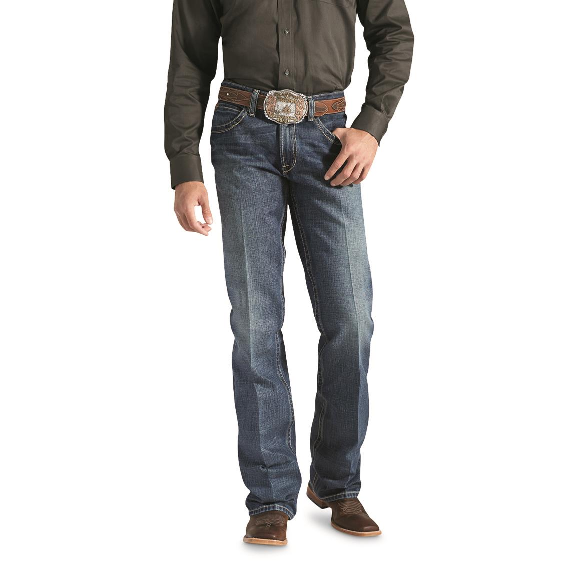 Ariat Men's M4 Low Rise Bootcut Jeans, Gulch