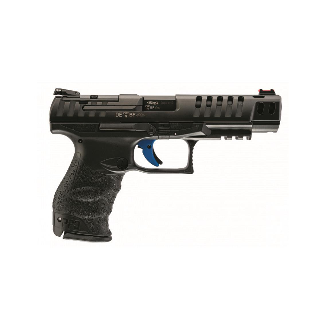 "Walther PPQ Q5 Match, Semi-Automatic, 9mm, 5"" Barrel, 10+1 Rounds"