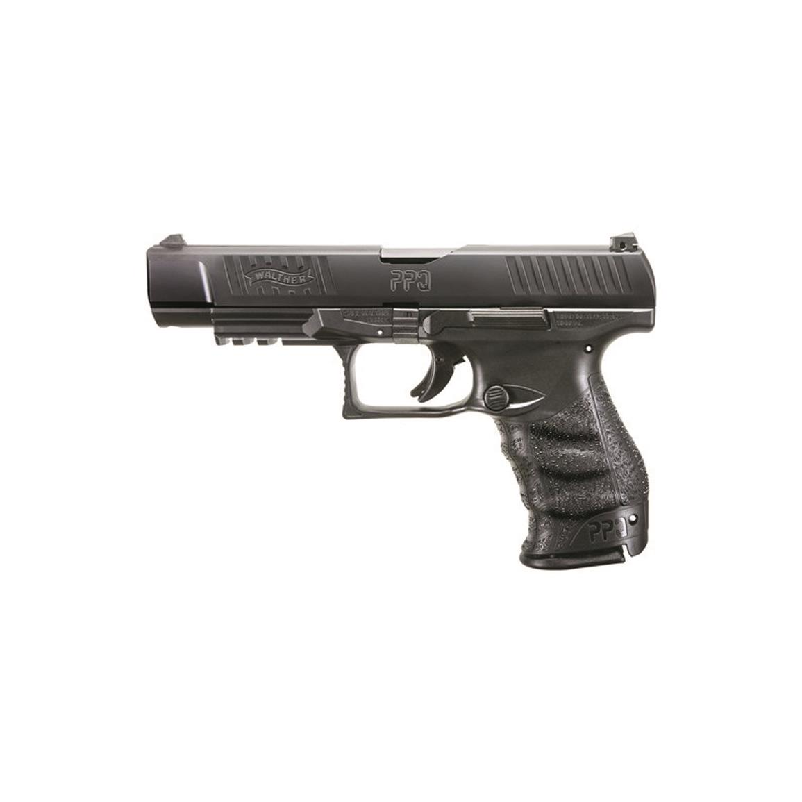 "Walther PPQ M2 5"" Standard, Semi-Automatic, 9mm, 5"" Barrel, 10+1 Rounds"