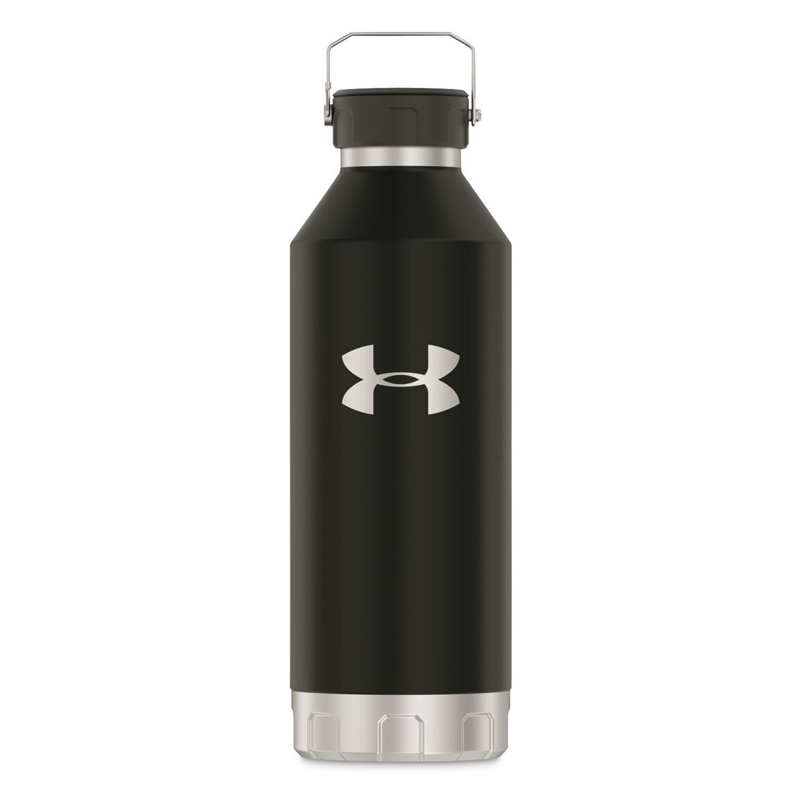 Thermos® Under Armour® Peak 40-oz. Stainless Steel Water Bottle, Black