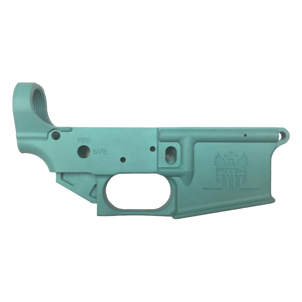 FMK Firearms AR1 eXtreme Multi-Caliber AR-15 Stripped Polymer Lower Receiver, Blue Jay