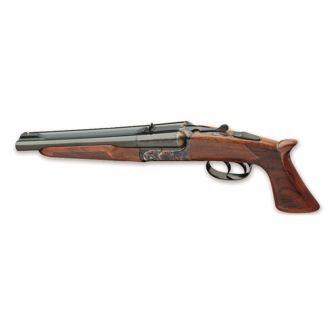 "Pedersoli Howdah 45/410, Side-by-Side, .45 Colt/.410 Bore, 10.25"" Barrels, 2 Rounds"