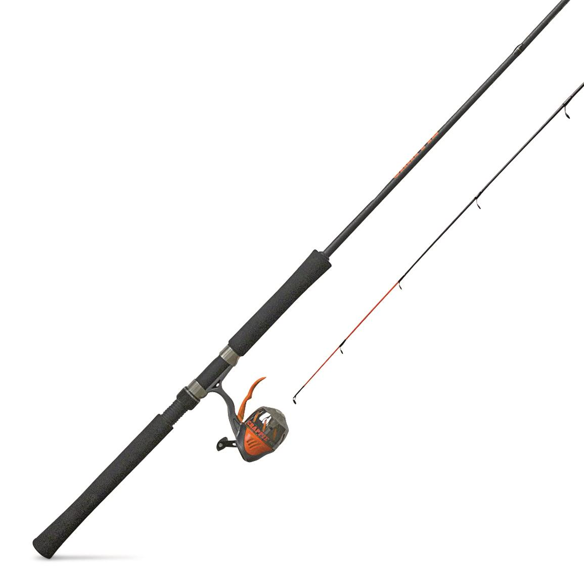 Zebco Crappie Fighter Spincast Rod and Reel Combo
