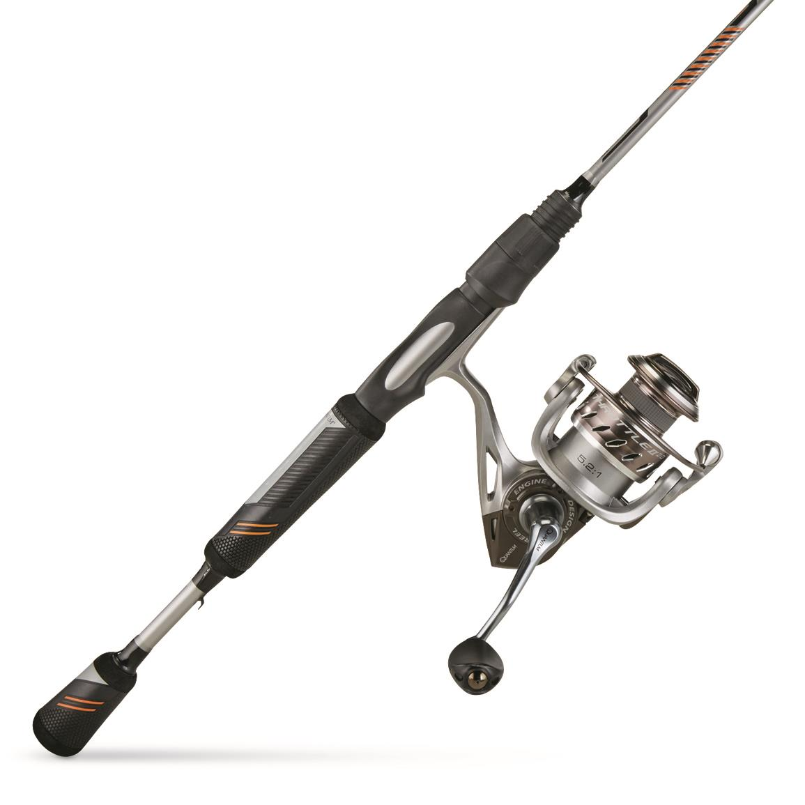 Quantum Throttle II Spinning Rod and Reel Fishing Combo