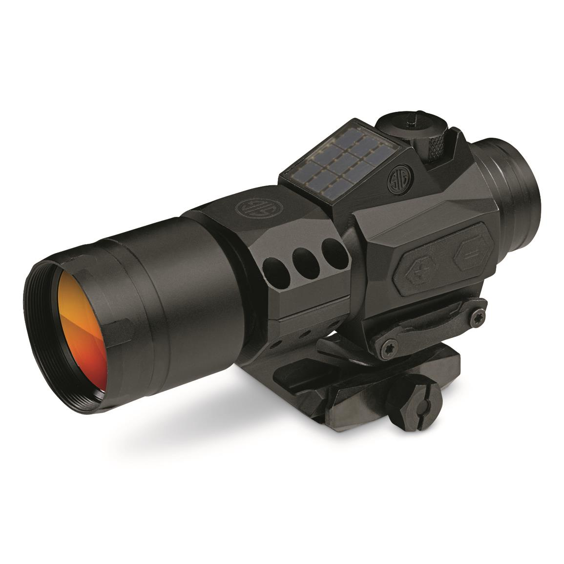 SIG SAUER Romeo6T, 1x30mm, 1 MOA, Full Size Red Dot Sight