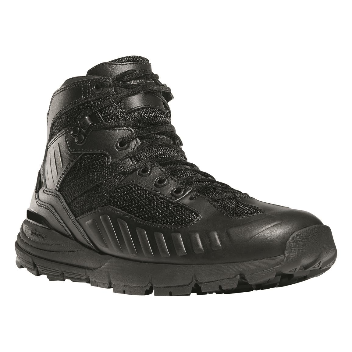 "Danner Men's FullBore 4.5"" Waterproof Duty Boots, Black"