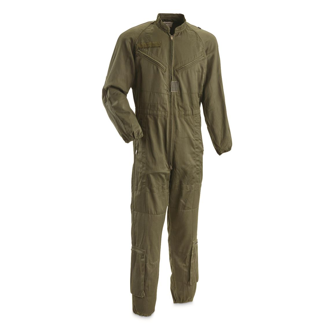 French Military Surplus Tanker Coveralls, Like New