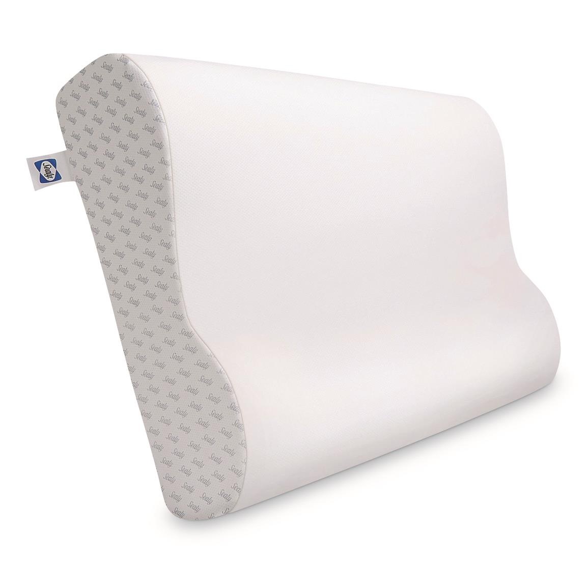 Sealy Essential Memory Foam Contour Pillow