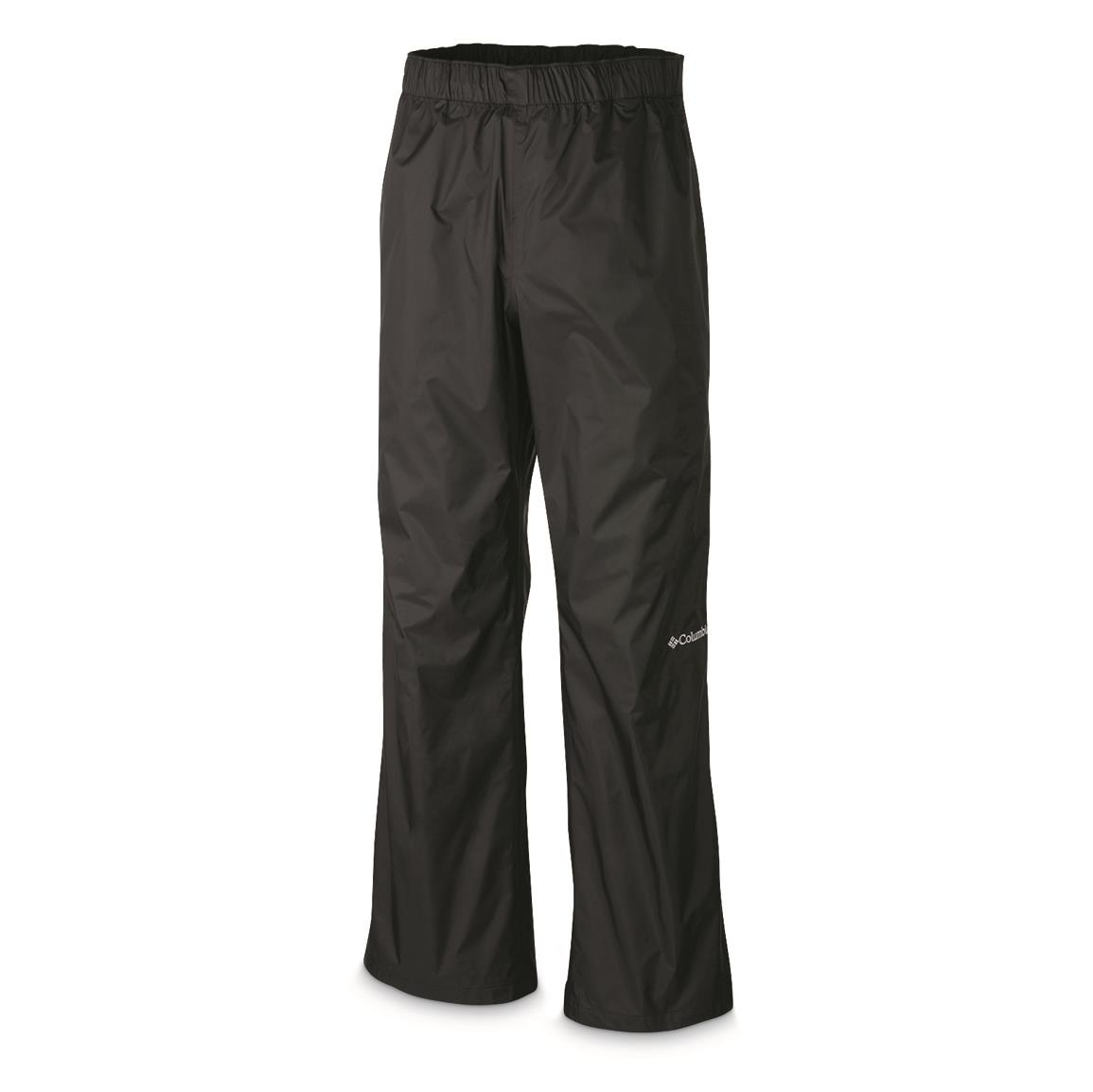 Columbia Men's Rebel Roamer Waterproof Pants, Black