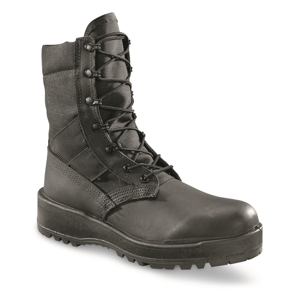 U.S. Military Surplus Altama Hot Weather Boot, New, Black