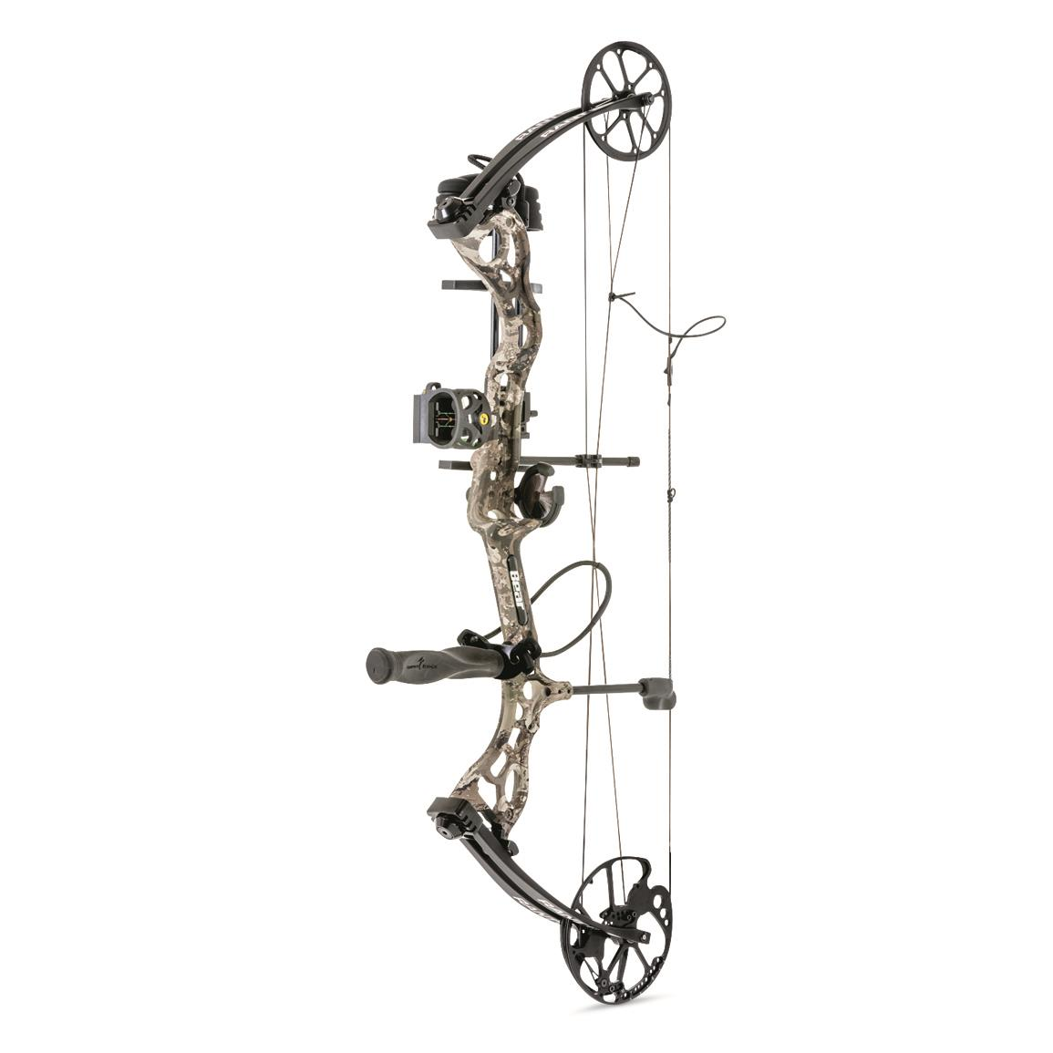 Bear Archery Rant Compound Bow Package, 50-70 lb. Draw, Veil Stoke