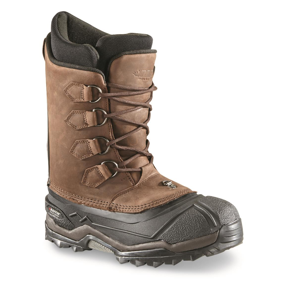 Baffin Men's Control Max Insulated Waterproof Boots, Brown