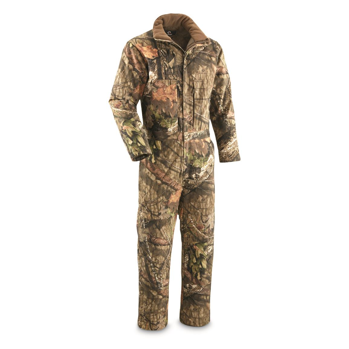 Guide Gear Men's Insulated Silent Adrenaline II Hunting Coveralls, 200-gram, Mossy Oak Break-Up® COUNTRY™