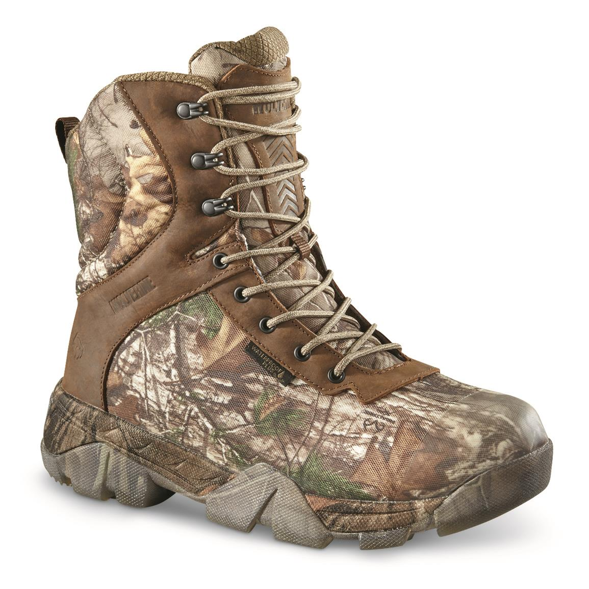 Wolverine Men's Archer 2 Waterproof Insulated Hunting Boots, 400-gram, Realtree EDGE™