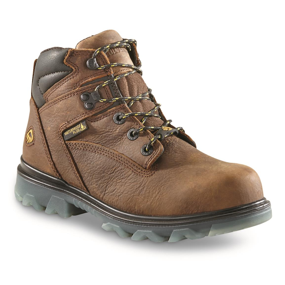Wolverine Women's I-90 EPX Waterproof Work Boots, Sudan Brown