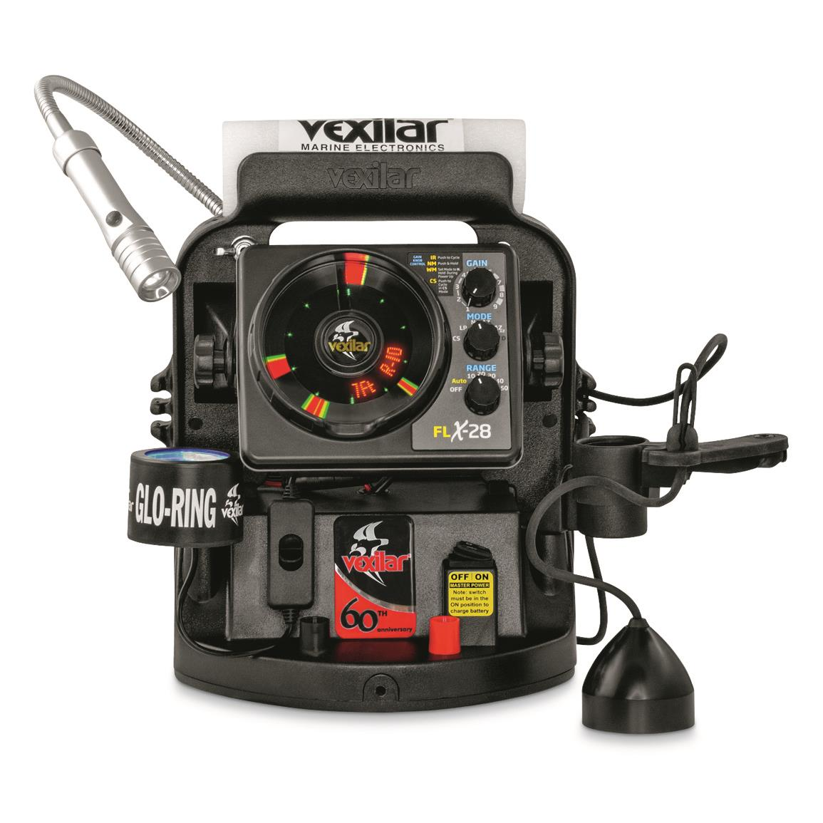 Vexilar FLX-28 Limited Edition 60th Anniversary Ultra Pack Fish Finder