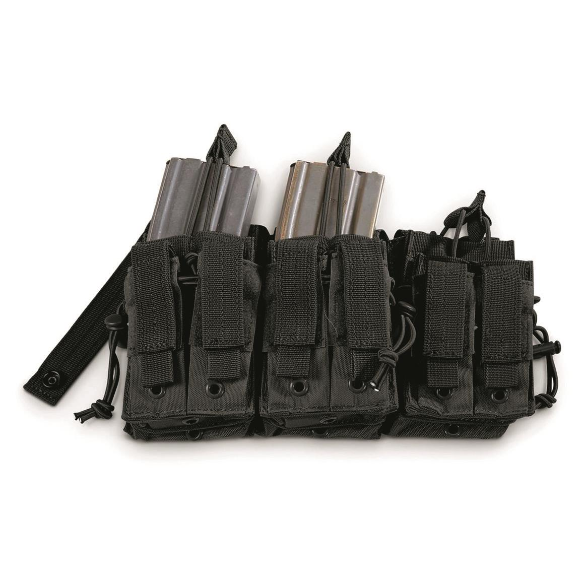 Fox Outdoor Tactical Six-Stack Mag Pouch, Black