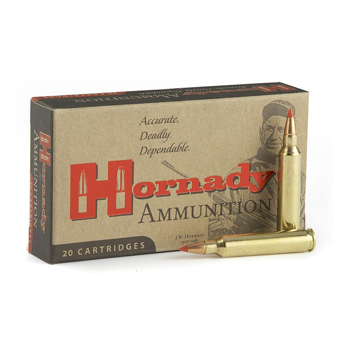 Hornady® Interlock™ Rifle Ammo
