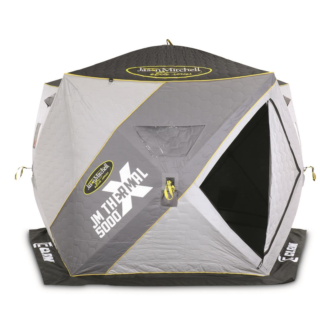Clam JM X5000 Thermal Ice Shelter