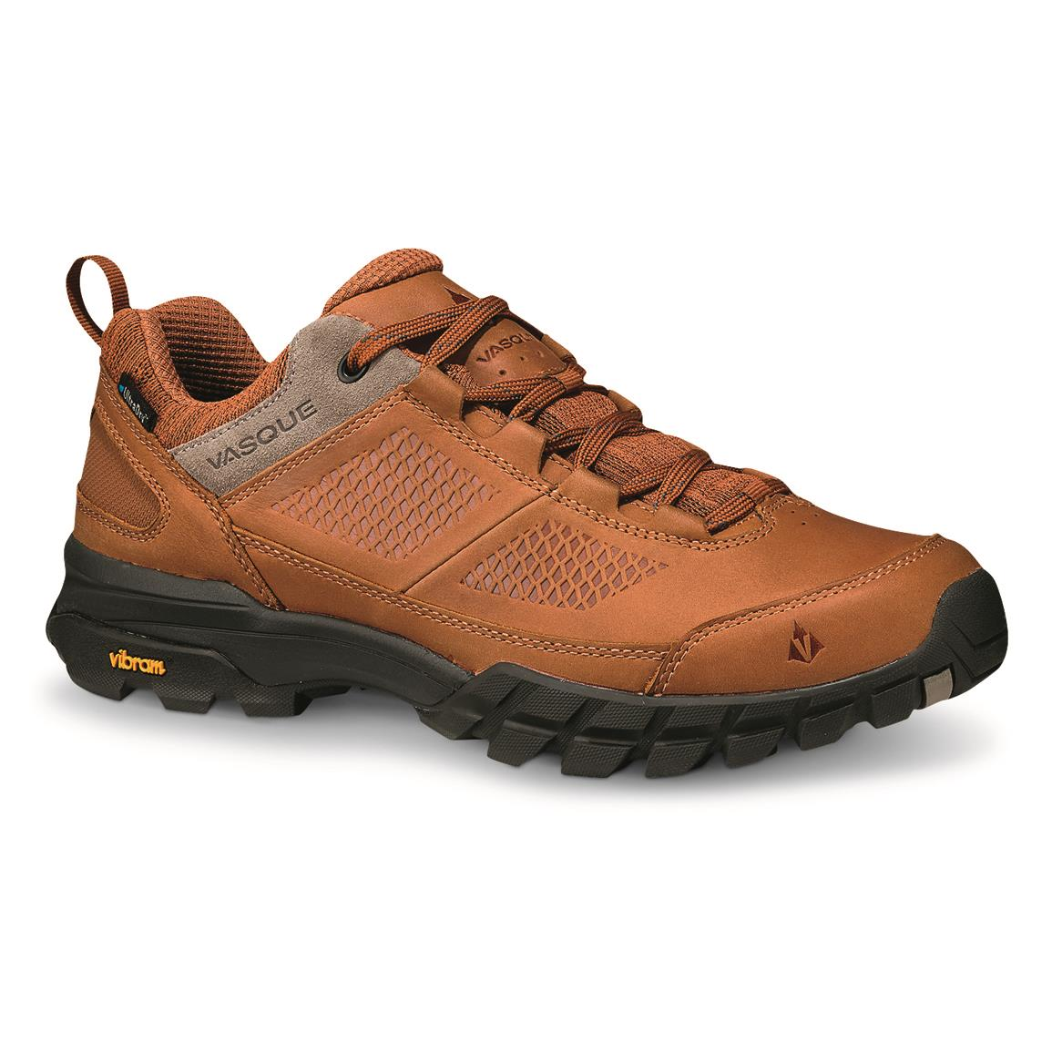 Vasque Men's Talus AT Ultradry Waterproof Hiking Shoes, Glazed Ginger/brindle