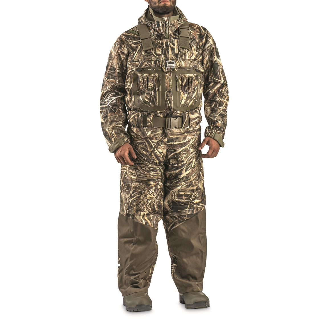 Banded RedZone ELITE 2.0 Insulated Breathable Bootfoot Chest Waders, 1,600-gram, Stout Sizes, Realtree MAX-5®