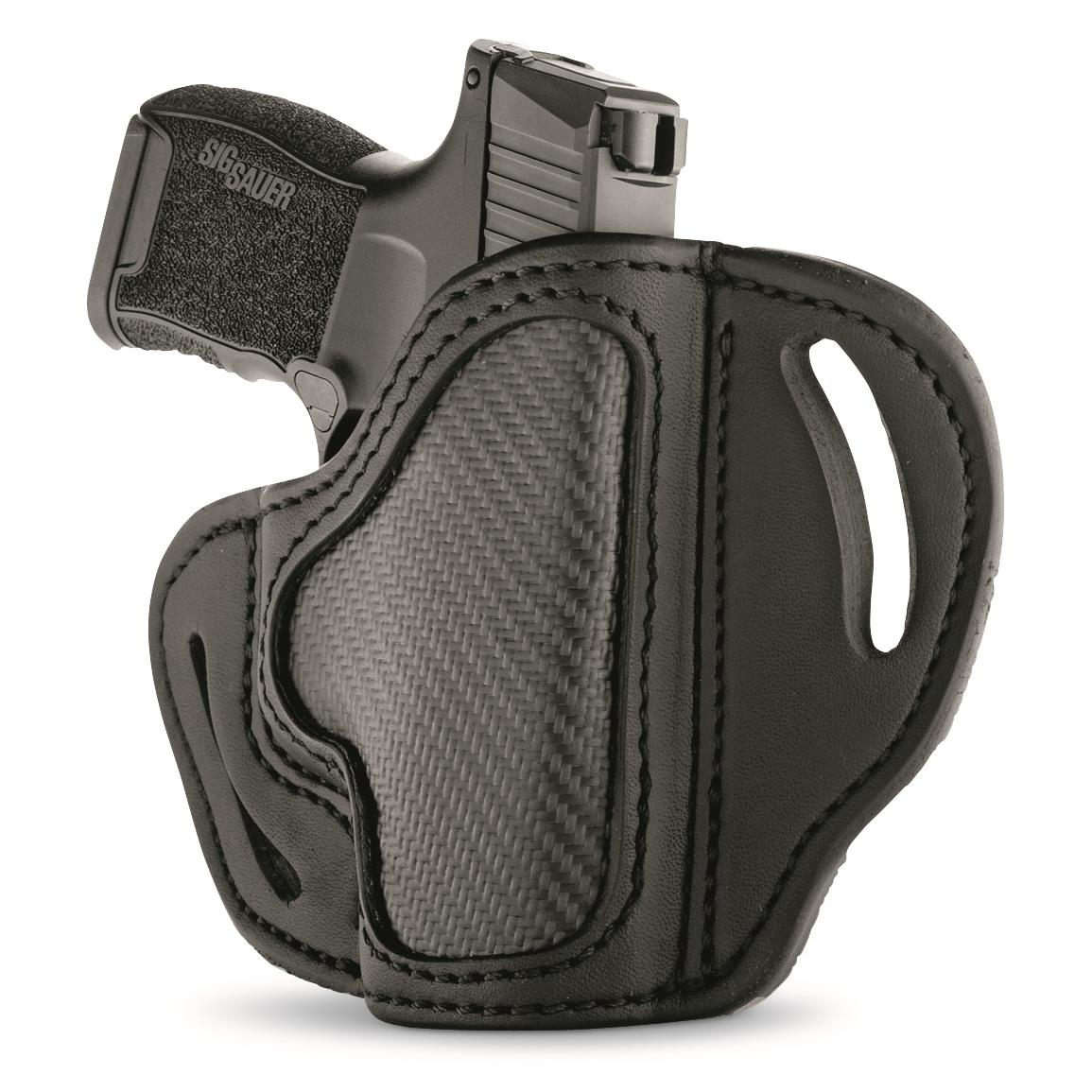 1791 Gunleather Carbon Fiber BHC Compact OWB Holster