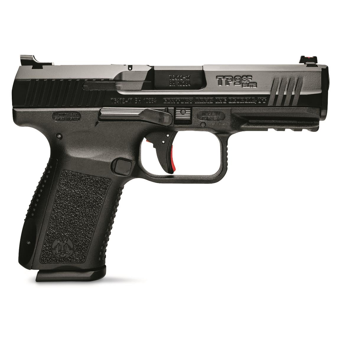 "Century Arms Canik TP9SF Elite ONE Series, Semi-Automatic, 9mm, 4.19"" Barrel, 15+1 Rounds"