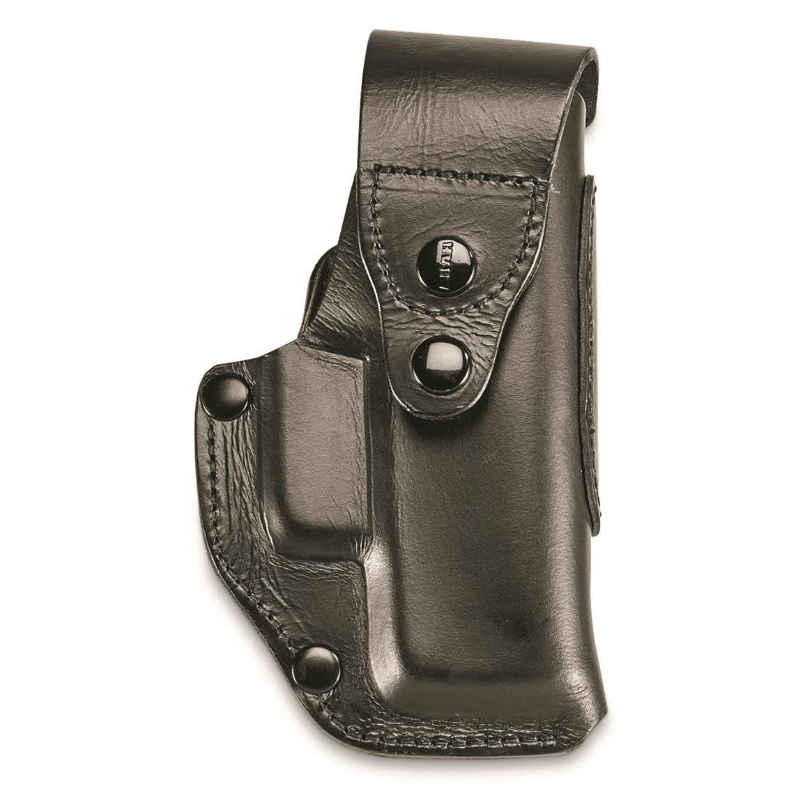 German Police Surplus P5 Leather Compact Holster, Used