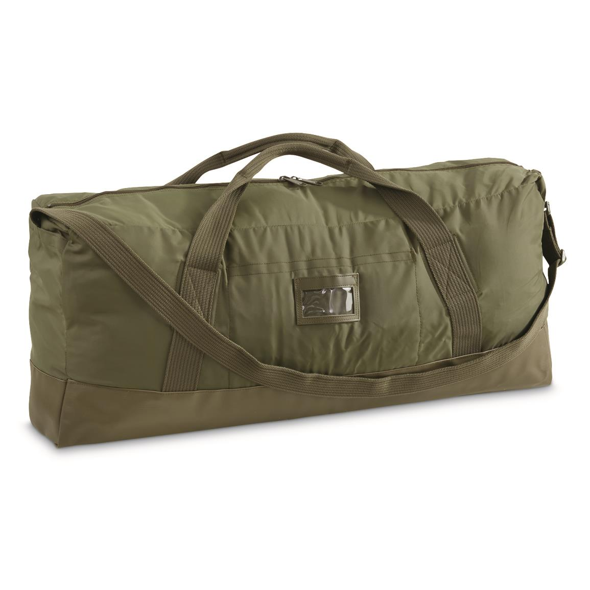 French Military Surplus F2 Duffel Bag, New