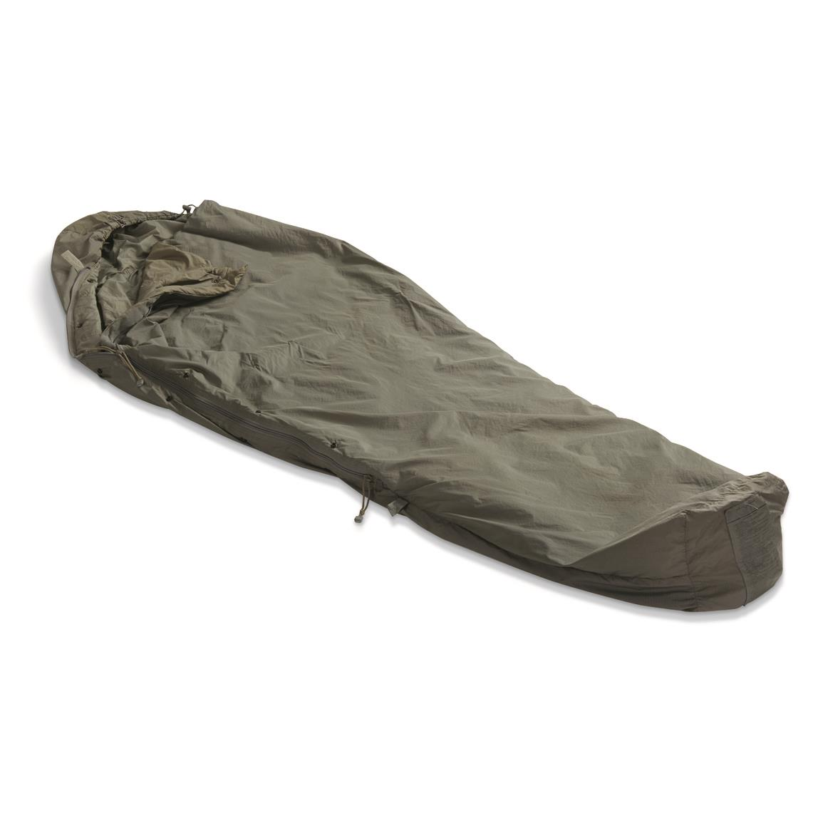 U.S. Military Surplus IMSS Patrol Sleeping Bag, Used, Foliage