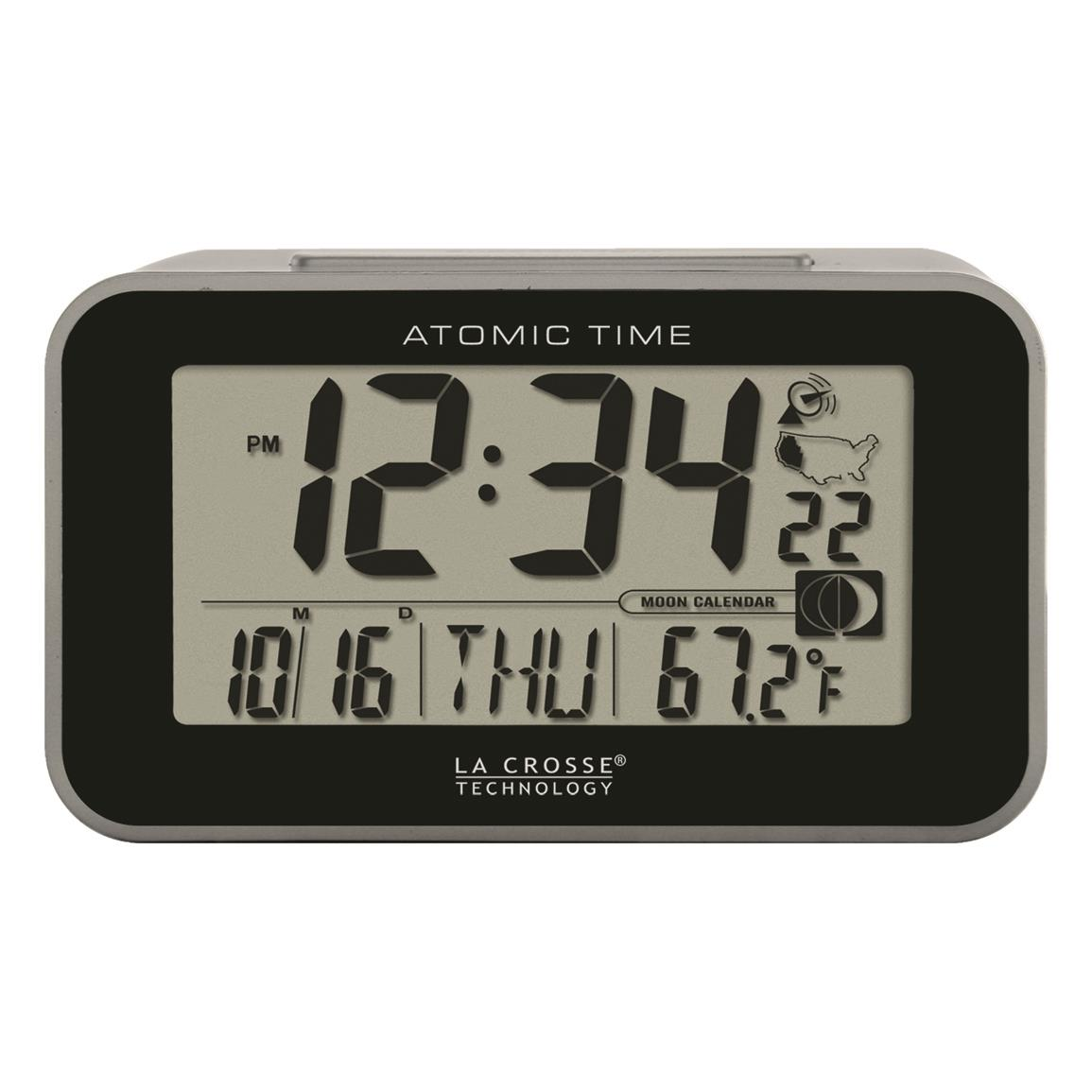 La Crosse Technology Atomic Digital Alarm Clock