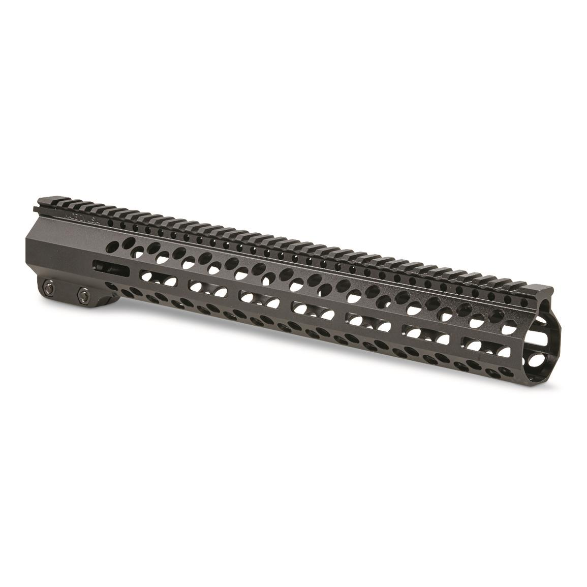 "AR*CHITECT High-profile 15"" AR-10 Handguard, Black"