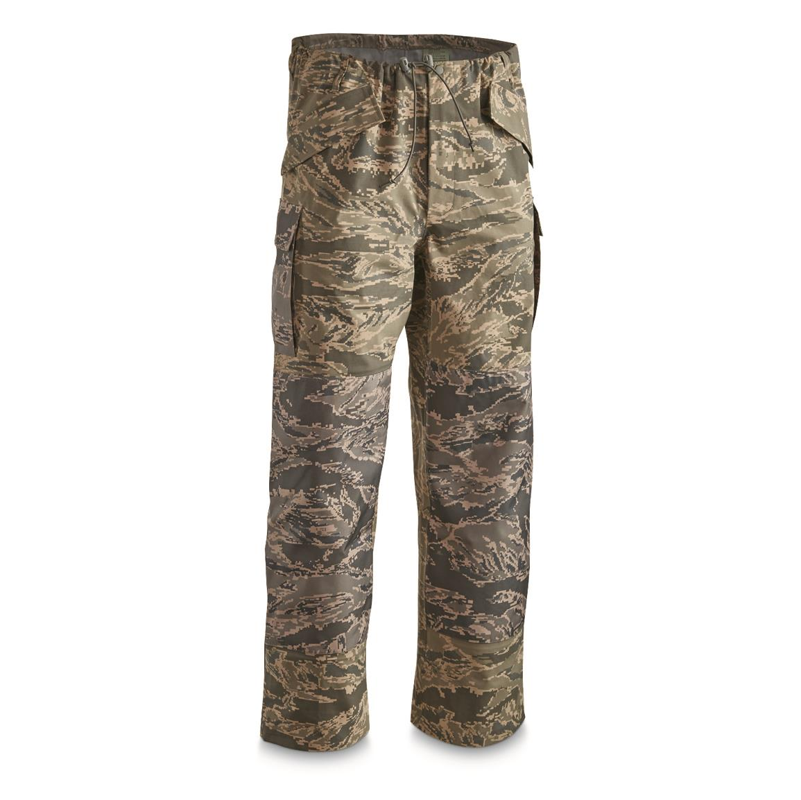 U.S. Military Surplus GORE-TEX APECS Pants, New, ABU Camo