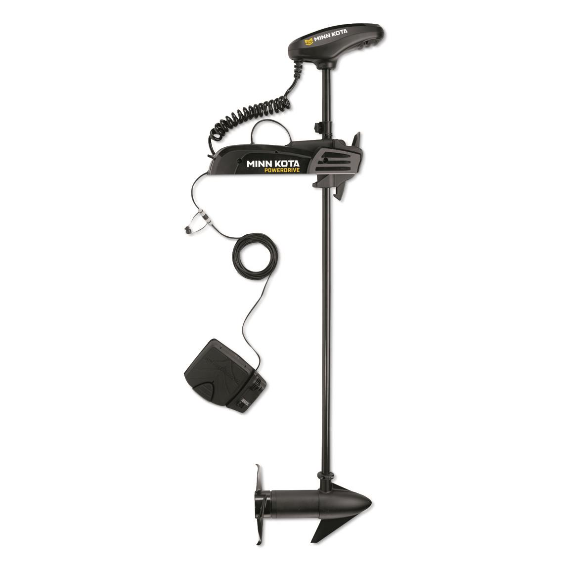 "Minn Kota PowerDrive 55-Lb. Trolling Motor, 12V, 54"" Shaft with Battery Charger"