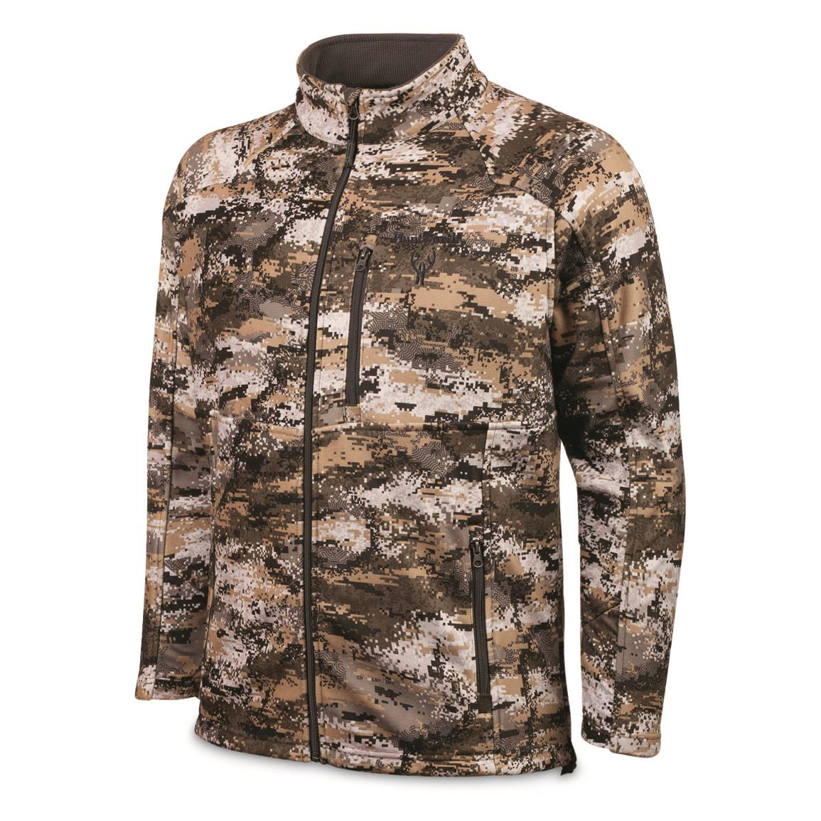 Huntworth Men's Midweight Softshell Hunting Jacket, Disruption