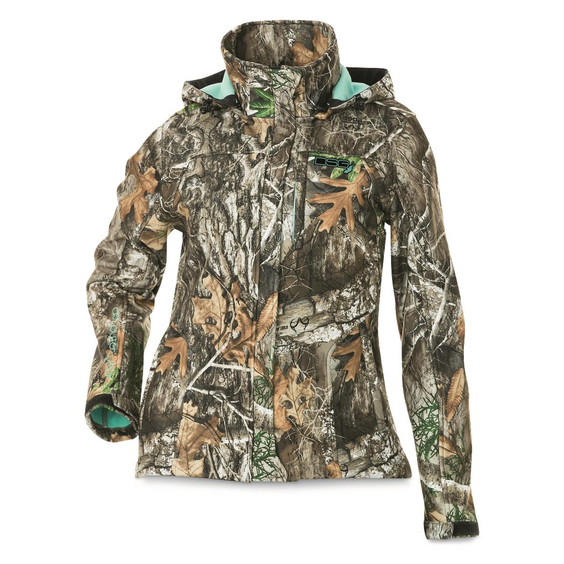 Micro-tricot outer layer bonded to micro-fleece, Realtree Edge Camo