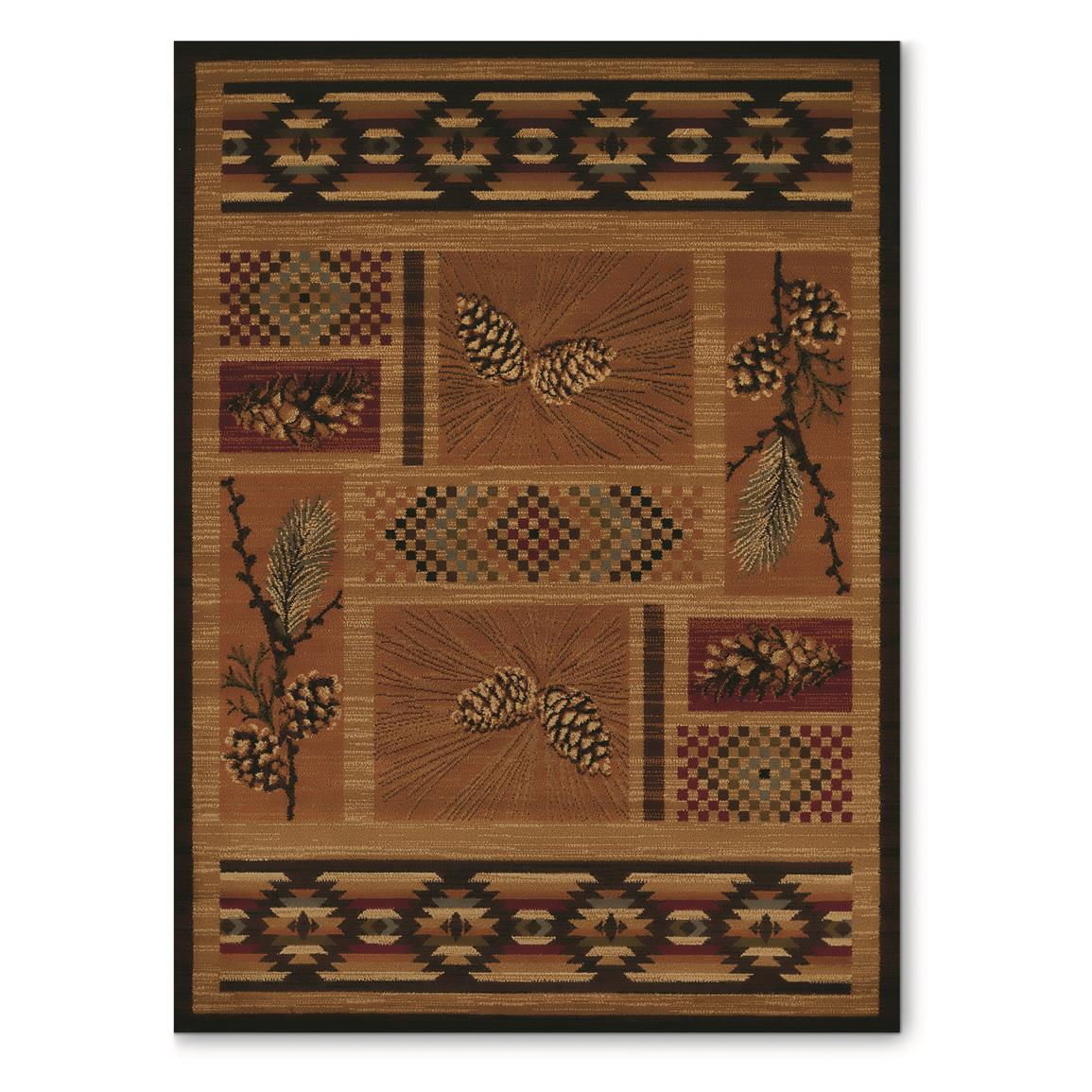 United Weavers Affinity Collection El Paso Pine Rug