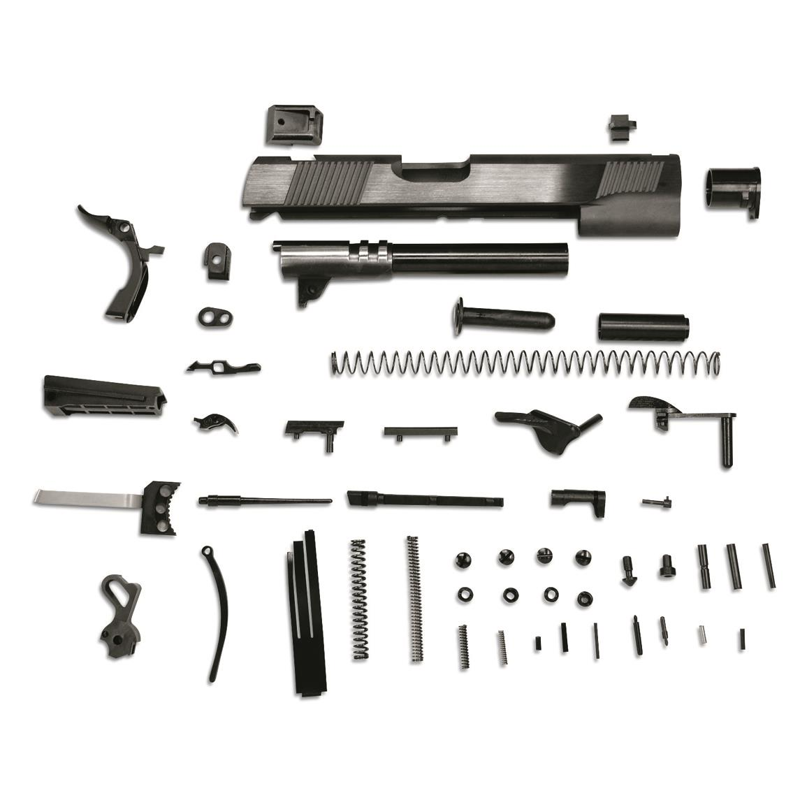 Metro Arms Government 1911 Parts Kit, Blued