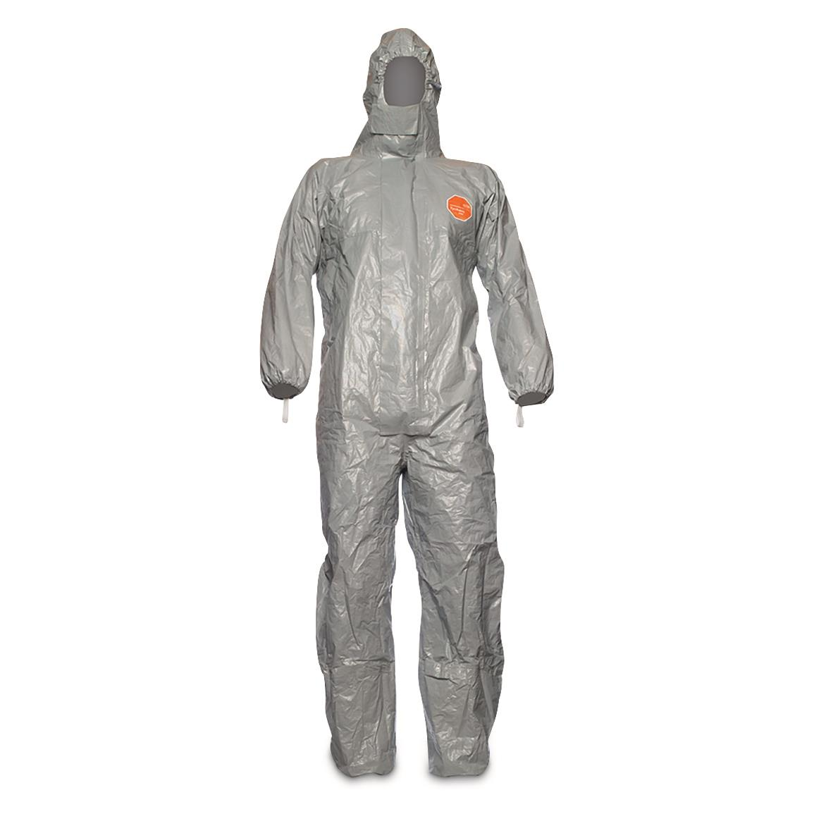 Italian Military Surplus DuPont Personal Protection Tychem F Suit, New