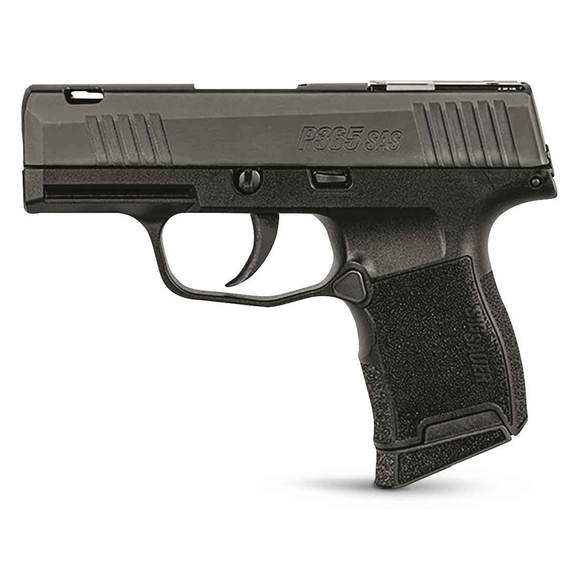 "SIG SAUER P365 SAS, Semi-Automatic, 9mm, 3.1"" Barrel, 10+1 Rounds"